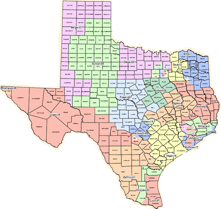 redistricting in texas Texas could be headed to the supreme court after a federal court ruled tuesday  that two of the state's congressional districts violate both the.