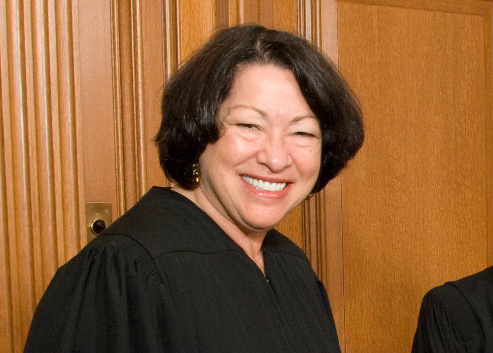 Voice of first u s hispanic justice heard in major race for Sonia sotomayor coloring page